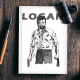 LOGAN Artwork Notebook | Artist : Anupam Prasoon