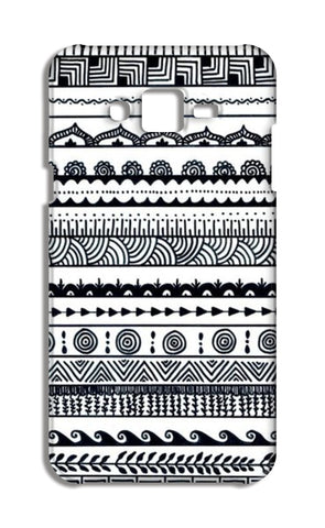 aztec Samsung Galaxy J7 Cases | Artist : The Doodler dentist