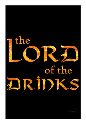 Lord of the Drinks Wall Art | Artist : Shweta Paryani