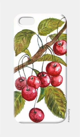 iPhone 5 Cases, Cherries iPhone 5 Case I Artist: Seema Hooda, - PosterGully