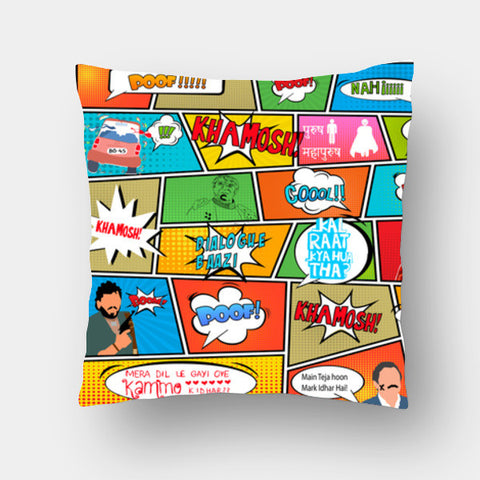 Cushion Covers, BOLLY POP!! Cushion Covers | Artist : DISHA BHANOT, - PosterGully