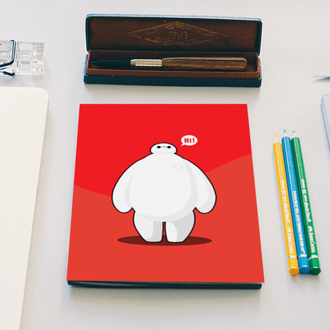 baymax Notebook | Artist : NextDesigns