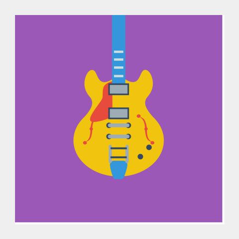 Square Art Prints, Guitar Square Art Prints | Artist : Gagandeep Singh, - PosterGully