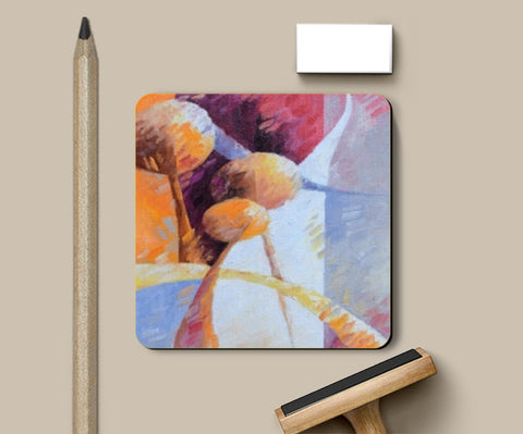Sous verre autumn light Coasters | Artist : BEDEUR Beatrice