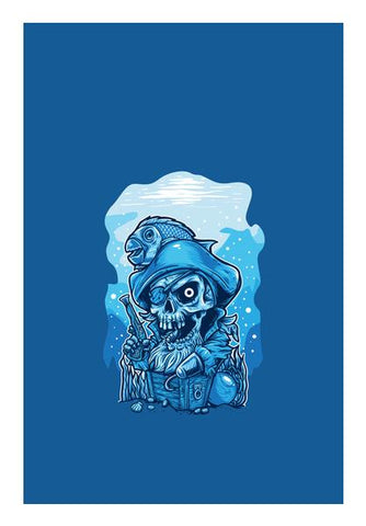 Cartoon Pirates Wall Art PosterGully Specials