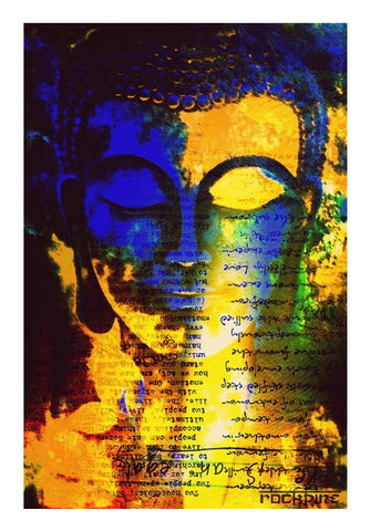 Buy Buddha God Art Paintings Posters Spiritual Shopping Online India ...