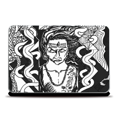 Laptop Skins, shiva Laptop Skins | Artist : akash biyani, - PosterGully