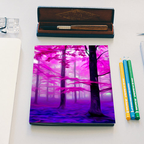 Pink Nature Notebook | Artist : Rameshwar Chawla