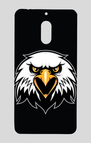 Mascot Head Of Eagle Nokia 6 Cases | Artist : Inderpreet Singh