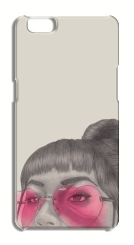 Betty With The Glasses Oppo A57 Cases | Artist : Anniez Artwork