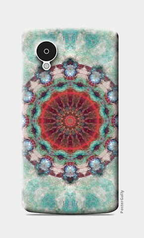 Nexus 5 Cases, red kaleidoscope Nexus 5 Case | Artist: harshad parab, - PosterGully