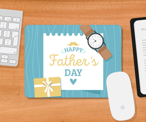 Father's Day Greeting with Gift | #Father's Day Special    Mousepad | Artist : Creative DJ
