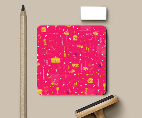 Coasters, Kitchen Crazy Coasters | Artist : Neelam Kaur, - PosterGully