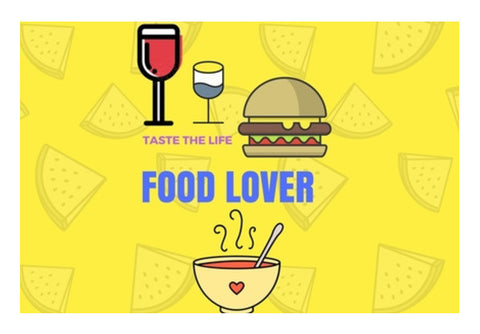 The Food Lover Wall Art  | Artist : Pallavi Rawal