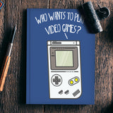 Video Games Notebook | Artist : Manju Nk