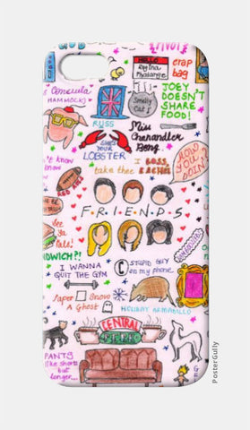 iPhone 5 Cases, Friends Doodle iPhone 5 Case | Artist: Keya Shah, - PosterGully