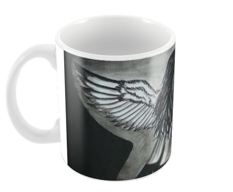 The Girl With Wings Coffee Mugs | Artist : Parvathi Arun