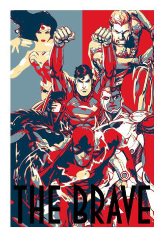 Justice League: The Brave Wall Art PosterGully Specials