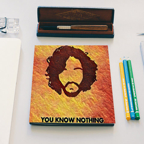 Jon Snow  Notebook | Artist : Paresh Godhwani