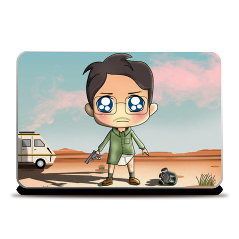 Laptop Skins, Breaking Bad Toon Laptop Skins | Artist : Toshib Bagde, - PosterGully