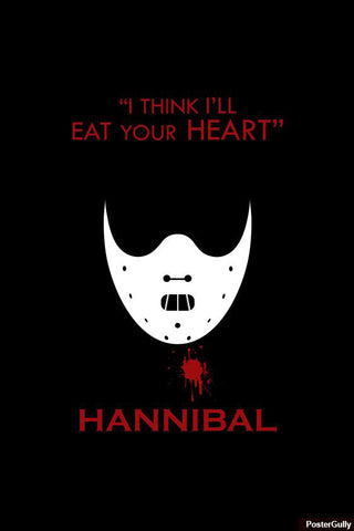 Wall Art, Hannibal Artwork | Artist: Loco Lobo, - PosterGully - 1