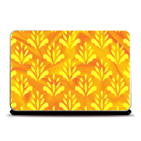 Yellow Flower Laptop Skins | Artist : Creative DJ