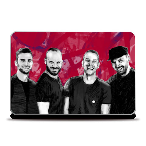 COLDPLAY Laptop Skins | Artist : SREY