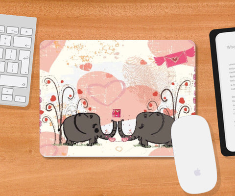 Mousepad, Elephanto Mousepad | Artist: Sketch MyPages, - PosterGully