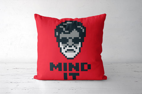 Mind It Pixel Art Cushion Covers | Artist : 8bitbaba