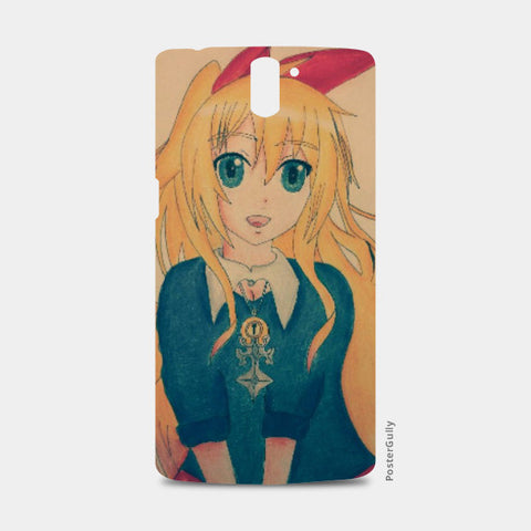 One Plus One Cases, Chitoge Kirisaki One Plus One Case | Artist:Abhilash Katta, - PosterGully