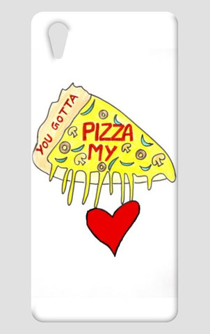 Pizza Love One Plus X Cases | Artist : Ajooni Singh