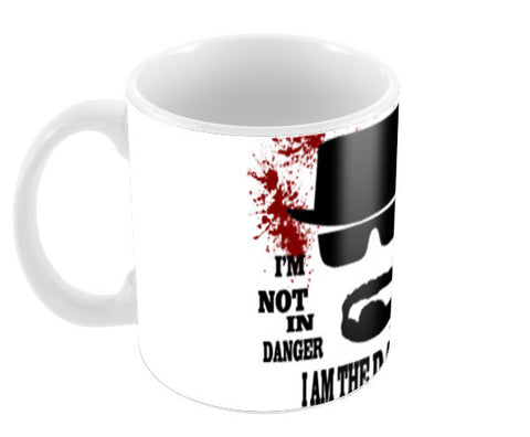 i am the danger Coffee Mugs | Artist : atul Kumar