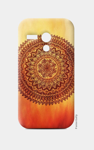 Fiery Mandala Moto G Cases | Artist : Susrita Samantaray