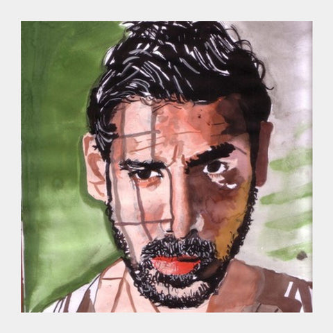John Abraham Has Carved His Own Niche In Bollywood Square Art Prints PosterGully Specials