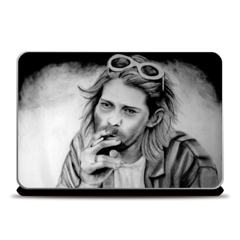 Nirvana-The state of peace Laptop Skins | Artist : Chahat Suri