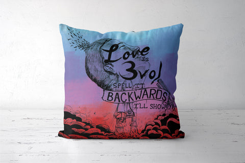 Eminem- Love is Evol Cushion Cover | Nikhil Nitin Lokhande