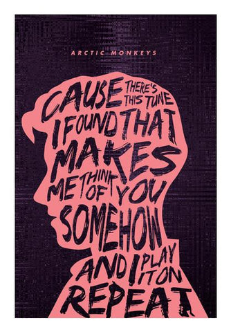 PosterGully Specials, Arctic Monkeys Poster #3 Wall Art | Artist : Vijay Sarathy, - PosterGully