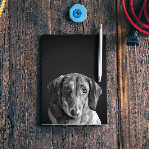 Dachshund ( Dog Lovers) Notebook | Artist : Amantrika Saraogi