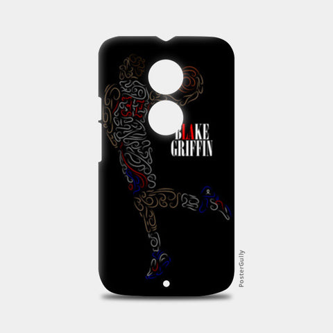 Blake Griffin Basketball Curves-Only Moto X2 Cases | Artist : Divyansh Deora