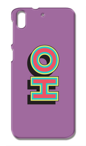 Colorful Pop Art Typography HTC Desire 728G Cases | Artist : Stuti Bajaj