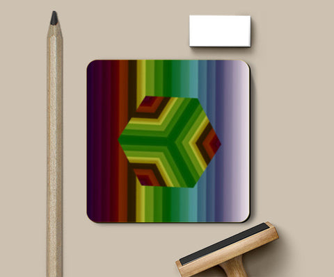 Coasters, Classic Cube Coasters | Artist : Hemant Kumar Gandhi, - PosterGully