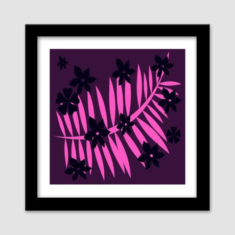 Purple Dream Premium Square Italian Wooden Frames | Artist : pravesh mishra