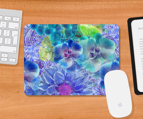 Enchanting Flora Mousepad | Artist : Tiny Dots