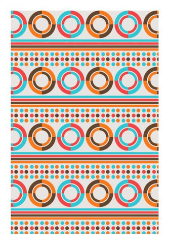 PosterGully Specials, Geometric Retro Vintage  Wall Art | Artist : Designerchennai, - PosterGully