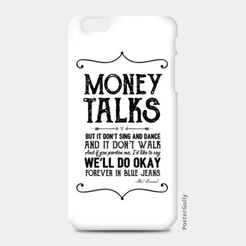 Money talks iPhone 6 Plus/6S Plus Cases | Artist : Abhishek Faujdar