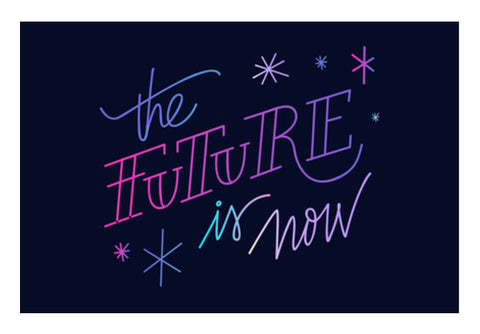 The Future Is Now  Wall Art  | Artist : Creative DJ