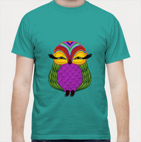 Baby Zoe the adorable baby owl Men T Shirts | Artist : Animal kingdom