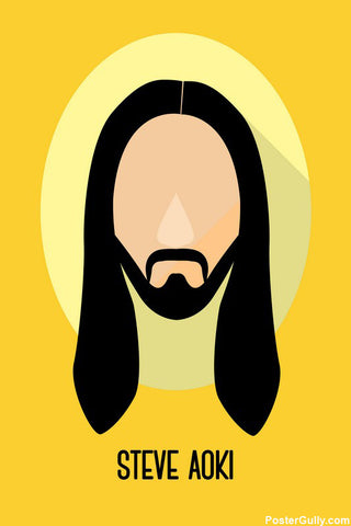 Brand New Designs, Steve Aoki Artwork | Artist Simran Anand, - PosterGully - 1