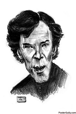 Brand New Designs, Sherlock Artwork | Artist: Karthik Abhiram, - PosterGully