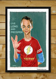 Brand New Designs, Sheldon Cooper Artwork | Artist: Sri Priyatham, - PosterGully - 2